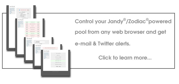 Pool Control Banner